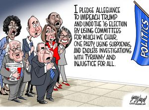 I pledge allegiance to impeach Trump ...