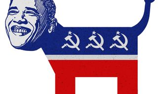 Party of the Left Illustration by Greg Groesch/The Washington Times