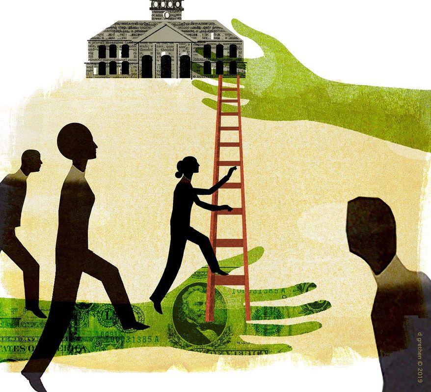 College Admissions Scandal Illustration by Donna Grethen