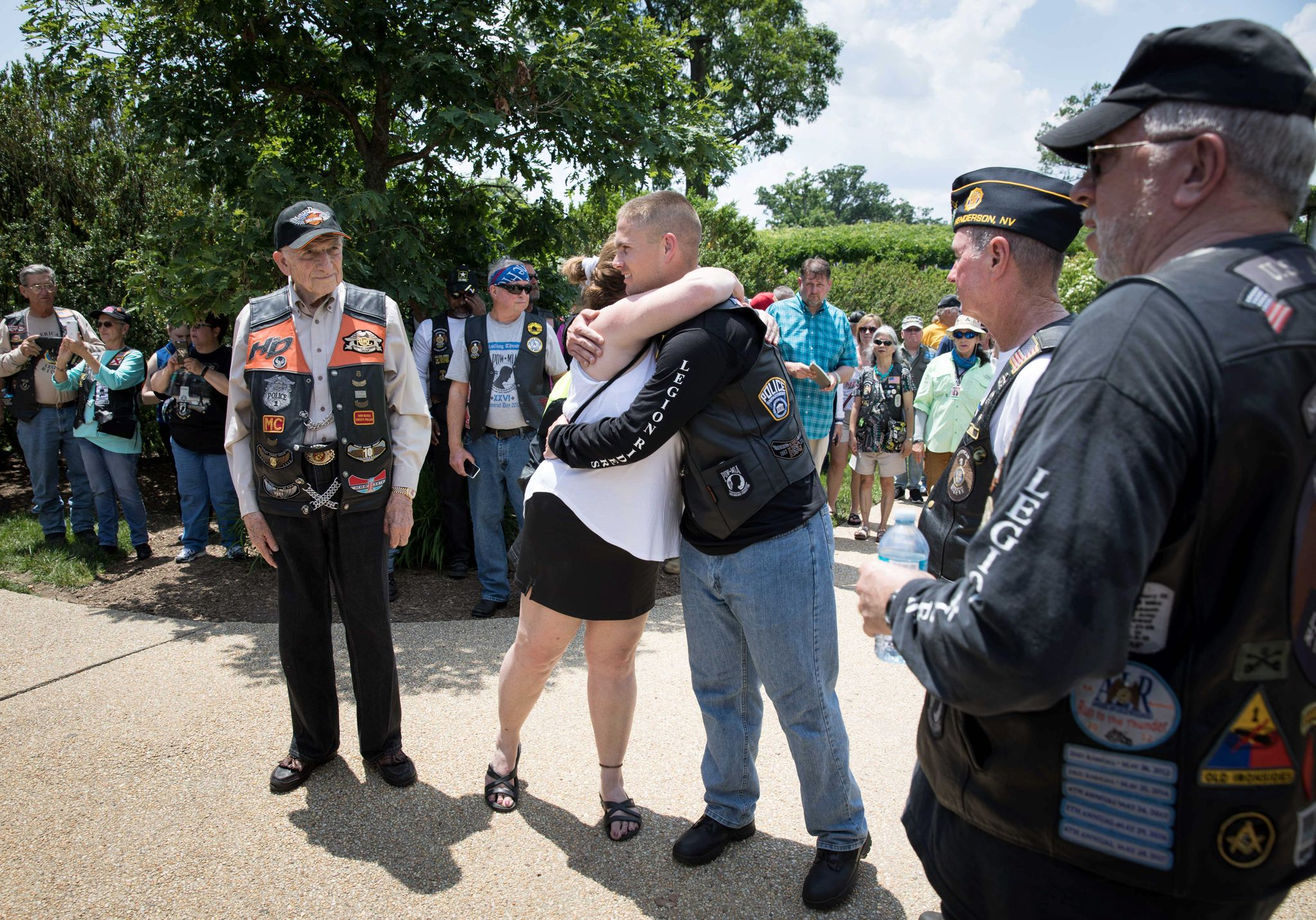 Legion Riders ensure Gold Star families aren't forgotten