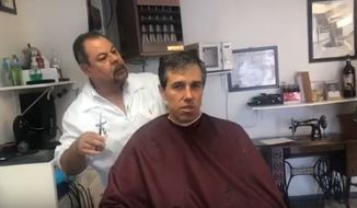 Democratic presidential candidate Beto O'Rourke on Tuesday defended his widely mocked livestream of himself getting a haircut last week, saying his intent was to showcase his Mexican barber's life story and the contributions immigrants have made to his hometown of El Paso, Texas. (YouTube/@Beto for All)