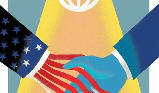 Illustration on the new imperialism by Linas Garsys/ The Washington Times