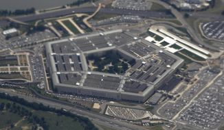 The Pentagon would receive funding for a host of programs under the Senate Armed Services Committee's proposed defense authorization bill . (Associated Press/File)