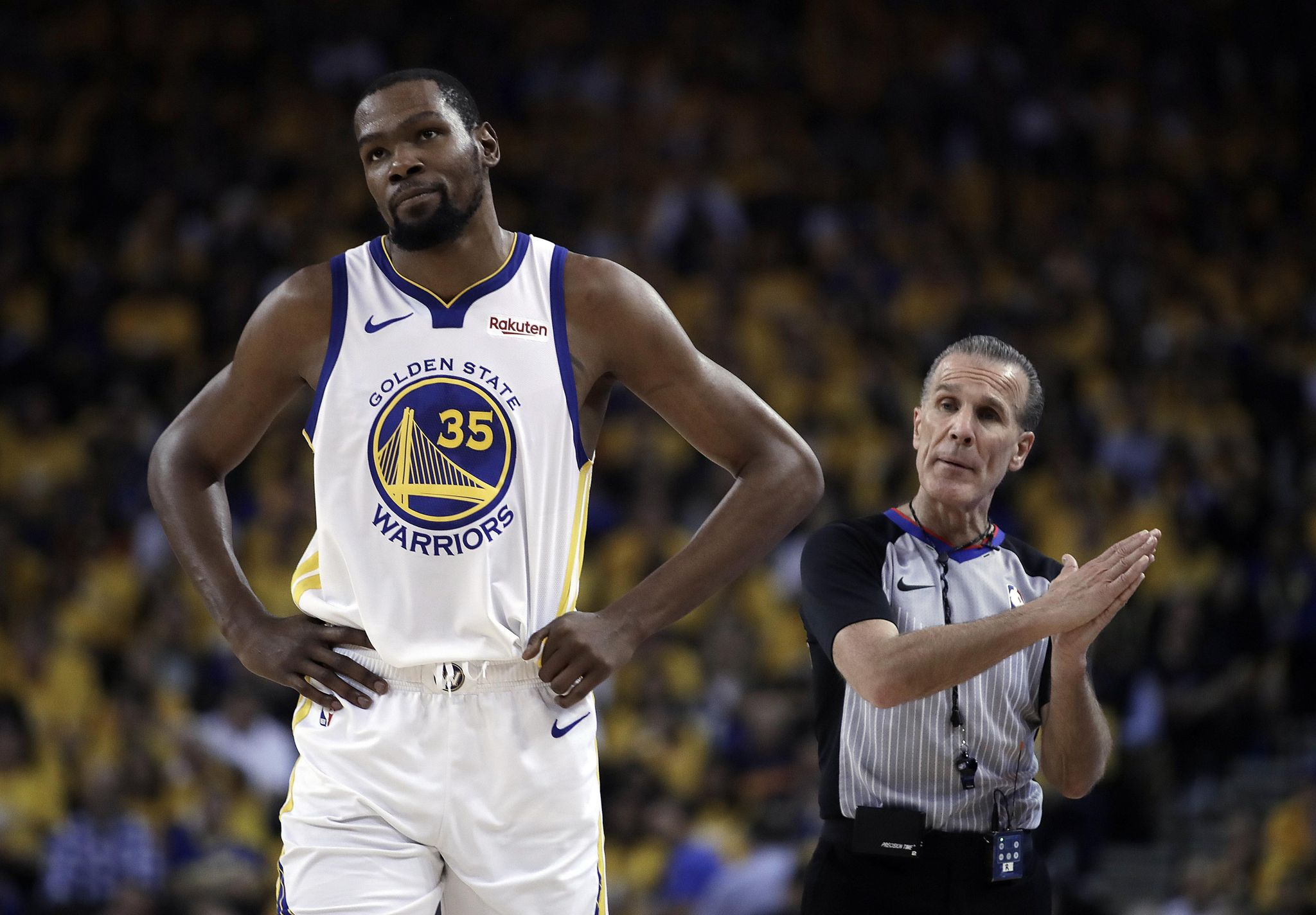LOVERRO: Durant's legacy dims if Warriors do it without him