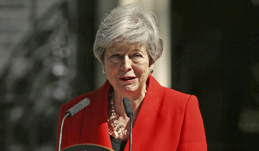 Theresa May to quit as British...