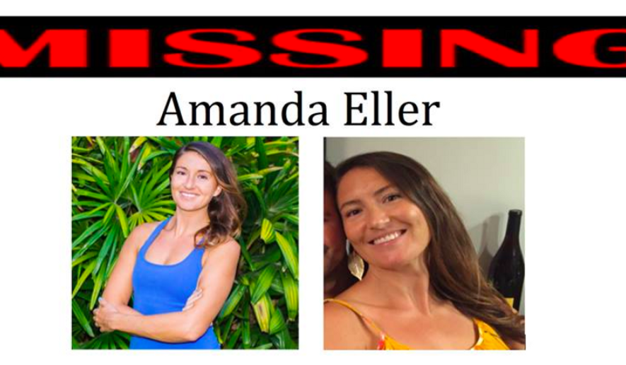 """Images of Amanda Eller shared on Facebook prior to her being found Friday, more than two weeks since being reported missing in Hawaii. Via the """"AmandaEllersMissing"""" Facebook account."""