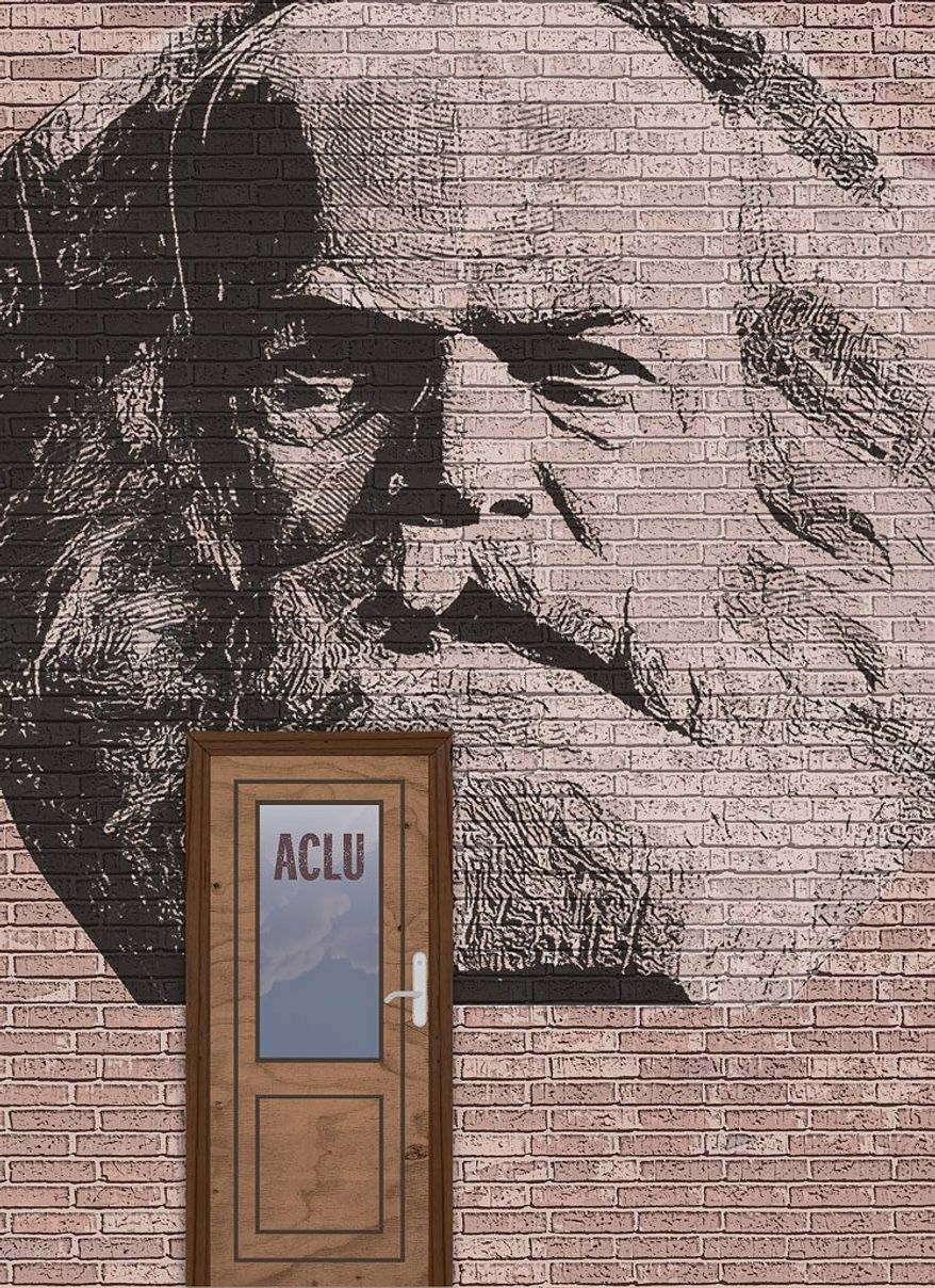 Karl Marx Lives Here Illustration by Greg Groesch/The Washington Times