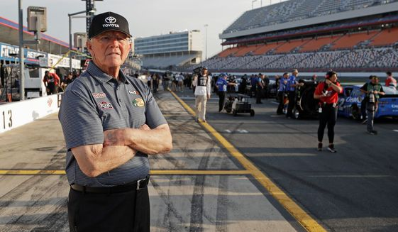 Former Washington Redskins coach and NASCAR racing team owner Joe Gibbs is now immortalized as a leader in two major halls of fame. (ASSOCIATED PRESS)