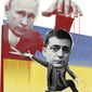 Illustratiohn on Ukraine's new president Zelenskiy by Linas Garsys/The Washington Times
