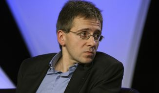 Ian Bremmer, president of Eurasia Group, is seen at the National Summit in Detroit, Tuesday, June 16, 2009. (AP Photo/Carlos Osorio)
