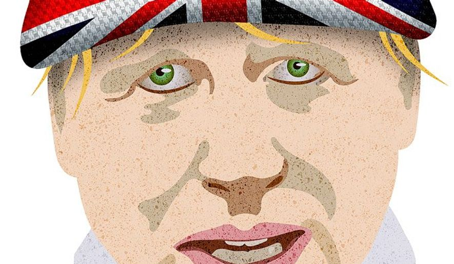 Boris Johnson for Prime Minister Illustration by Greg Groesch/The Washington Times
