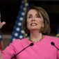 A nonpartisan news organization has suggested that House Speaker Nancy Pelosi, California Democrat, should run for president. (Associated Press)