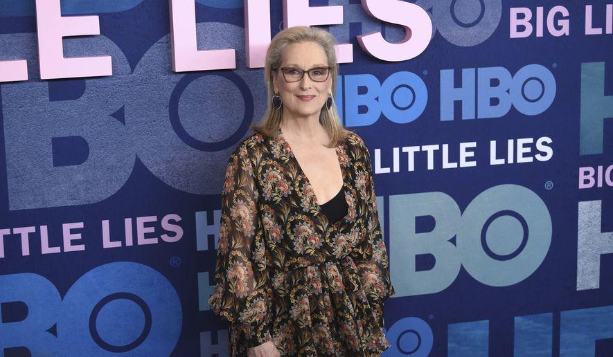 Meryl Streep slams term 'toxic masculinity': 'Women can be