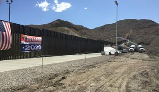 The private wall has upended the border debate, creating new options for fulfilling President Trump's most prominent campaign promise without having to rely on funding from Congress. (Photo courtesy of We Build the Wall)