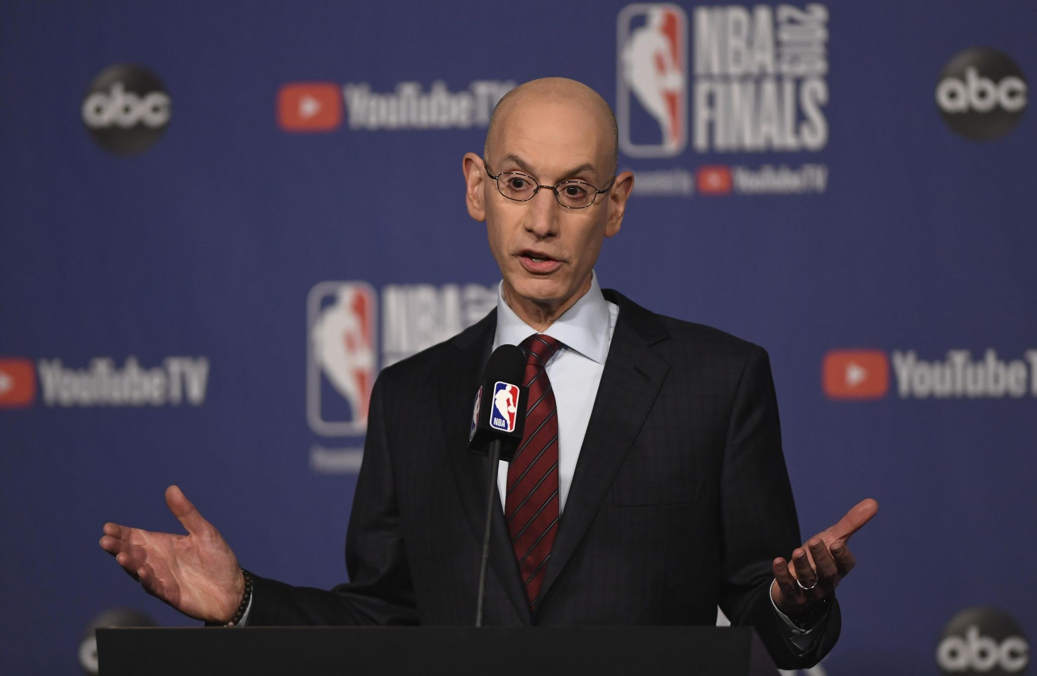 NBA done using term 'owner' over racial sensitivity concerns, commissioner says