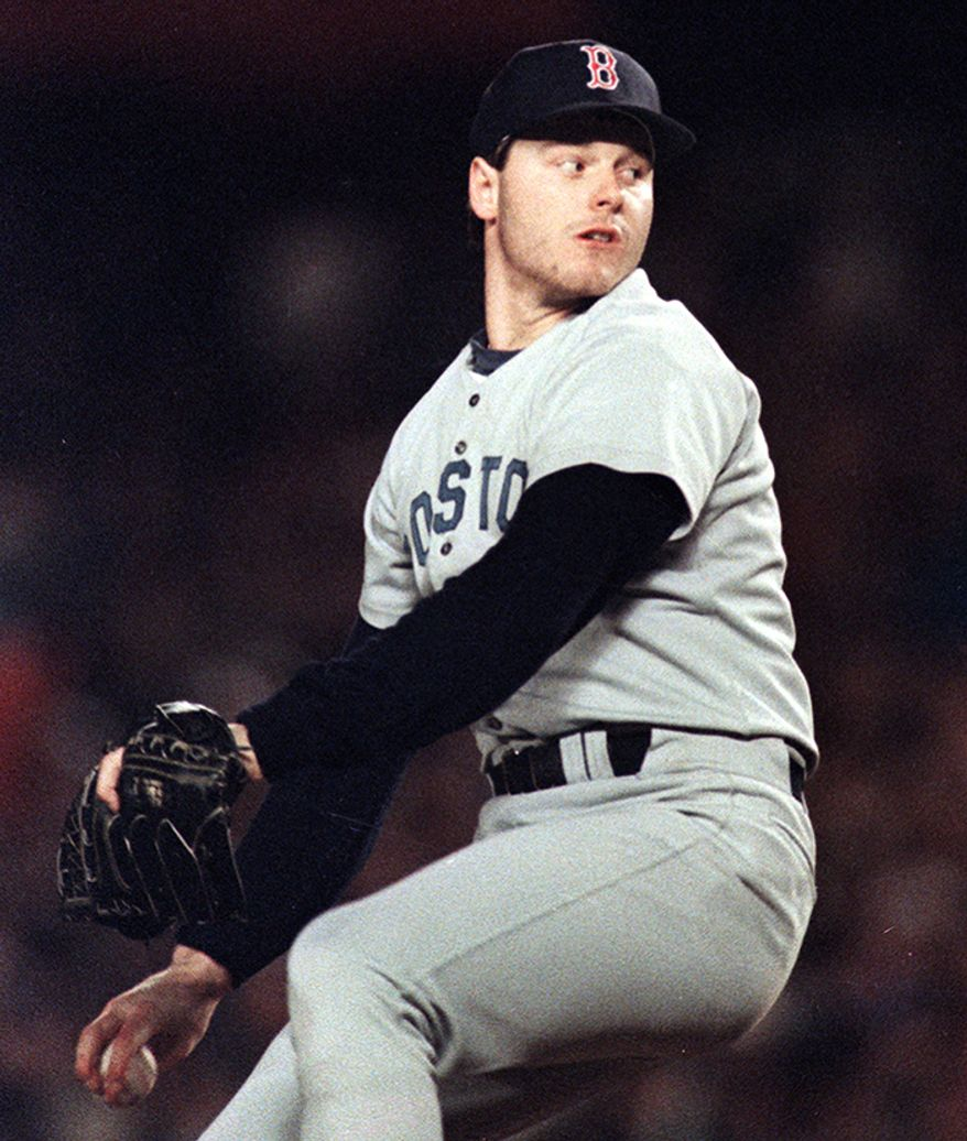 Boston Red Sox: Roger Clemens Career Stats: 354-184, 3.12 ERA, 1.173 WHIP, 4,672 K, SHO 46 All Star Game Appearances: 11 Awards:World Serieschampion (1999,2000),Cy Young Award(1986, 1987, 1991, 1997, 1998, 2001, 2004), AL MVP(1986),Triple Crown(1997, 1998)
