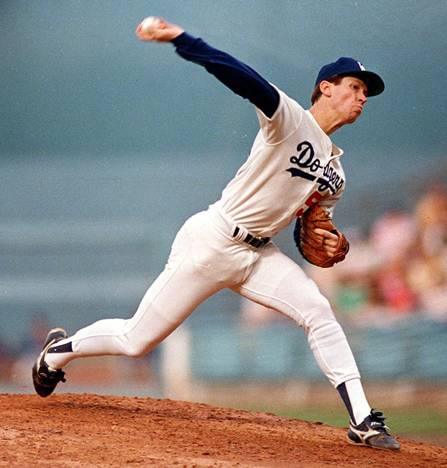 Los Angeles Dodgers: Orel Hershiser                                                              Career Stats: 204-150, 3.48 ERA, 1.26 WHIP, 2,014 K, 68 CG, 25 SHO  All-Star Game Appearances: Three                                                               Awards: One Gold Glove (1988), One Silver Slugger (1993), One Cy Young (1988), One World Series MVP (1988), One NLCS MVP (1988), One ALCS MVP (1995)