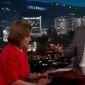 "House Speaker Nancy Pelosi discusses the Trump administration, May 30, 2019. (Image: YouTube, ""Jimmy Kimmel Live"" screenshot)"
