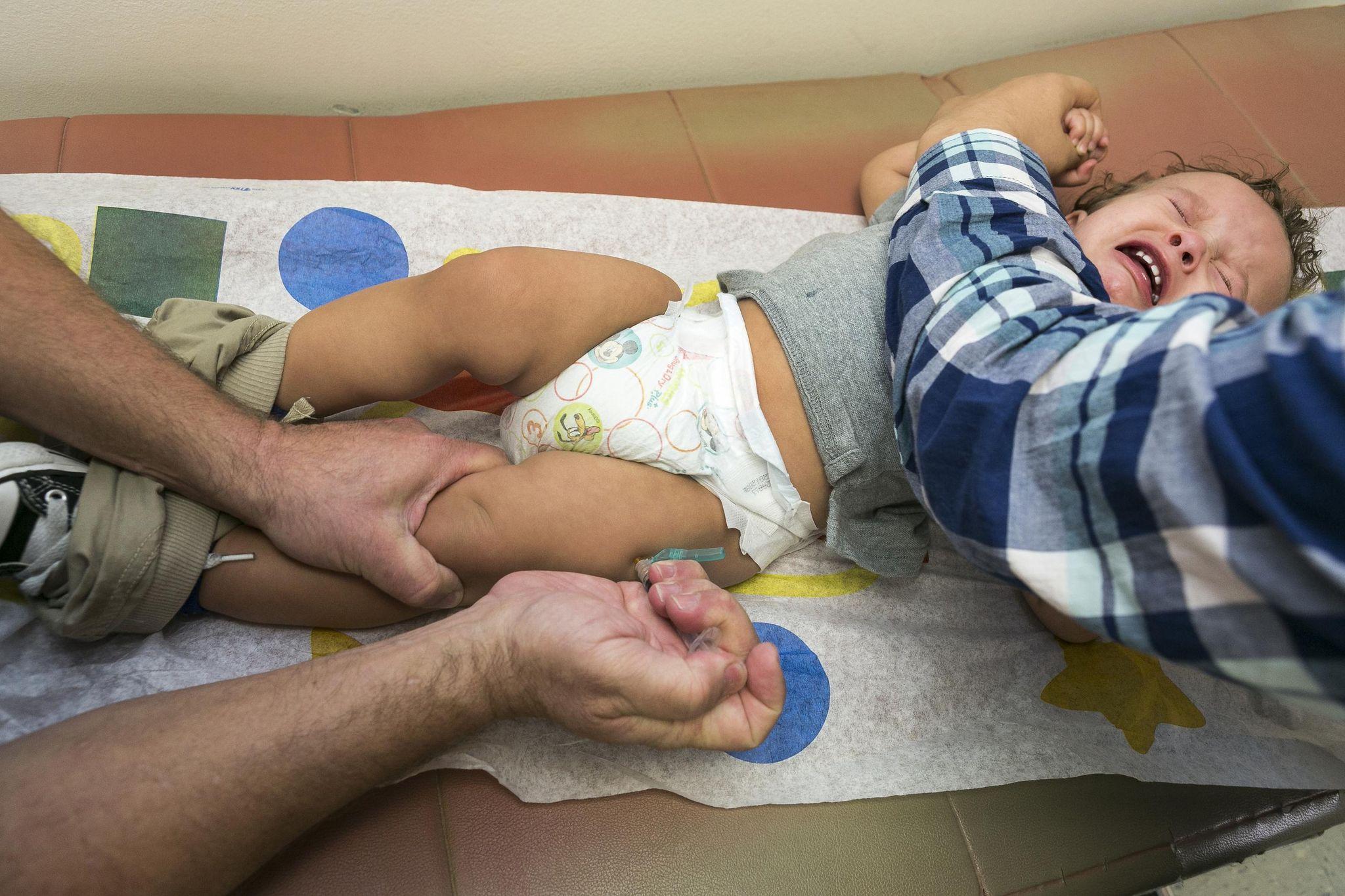 'Dangerous stagnation': Measles vaccine rates alarm global health organizations