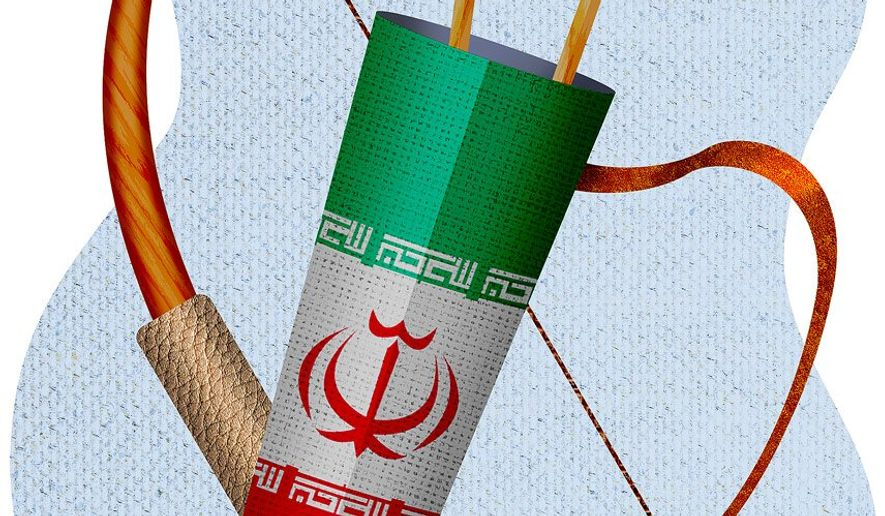 Iran Options Illustration by Greg Groesch/The Washington Times