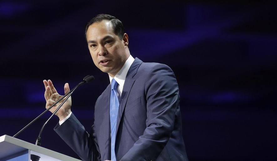"""""""How many of these videos do we have to watch to understand that even though we have some great police officers, this is not a case of bad apples. The system is broken,"""" said Democratic presidential candidate Julian Castro, who called Monday for a national overhaul of policing practices. (Associated Press/File)"""