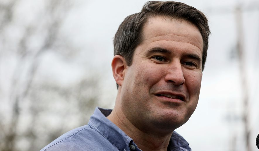 Democratic presidential candidate Rep. Seth Moulton told town hall attendees recently that he wants different health cares companies to compete for access.
