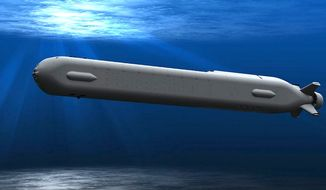 The U.S. Navy has started construction of an 'Extra Large Unmanned Undersea Vehicle' called Orca. Boeing will supply four vehicles as part of a $43 million. (Image: Boeing, concept art)