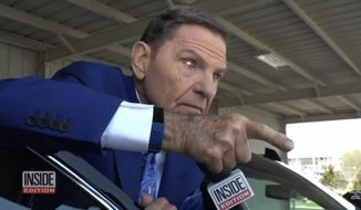 "Televangelist Kenneth Copeland snapped at an Inside Edition reporter in a recent interview about his lavish lifestyle and private-jet use, saying he makes no apologies for the fact that his ministry has made him ""a very wealthy man."" (Inside Edition)"