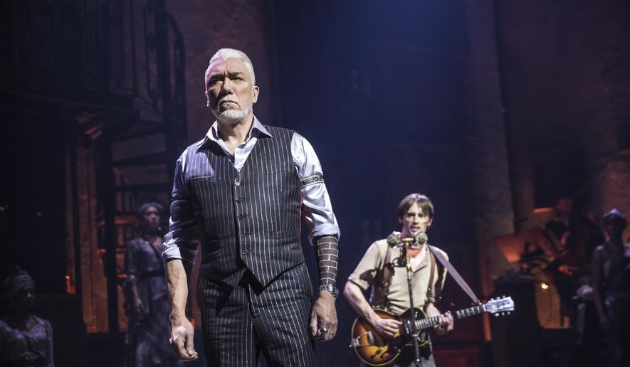 Hadestown' captures 8 Tony Awards, including best musical