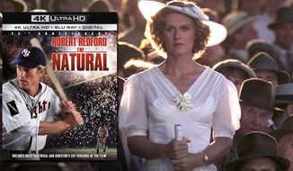 """Glenn Close co-stars in """"The Natural: 35th Anniversary Edition,"""" now available on 4K Ultra HD from Sony Pictures Home Entertainment."""