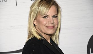 FILE - In this April 5, 2019 file photo, Gretchen Carlson attends Variety's Power of Women: New York presented by Lifetime at Cipriani 42nd Street Miss America-Carlson in New York.  Carlson is stepping down as board chairwoman of the Miss America Organization. The former Fox News host and former Miss America says in a statement Wednesday, June 5, that she has helped make the organization more relevant. (Photo by Evan Agostini/Invision/AP, File)
