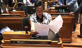 Louisiana Rep. Katrina Jackson, a Democrat, has challenged her party's orthodoxy with her opposition to abortion. (Office of Louisiana Rep. Katrina Jackson)