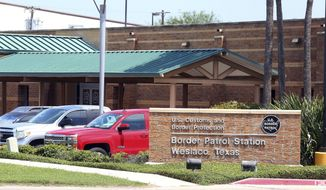 FILE - This May 20, 2019 file photo shows the Border Patrol Station in Weslaco, Texas. A 16-year-old from Guatemala died of complications of the flu while in the U.S. Border Patrol custody, according to new preliminary autopsy findings, alarming doctors who questioned whether immigration authorities had missed warning signs or chances to save his life. Carlos Hernandez Vasquez contracted bacterial infections in addition to the flu that led to multiple organ failure, according to a report released by Hidalgo County authorities this week. He died on May 20. A full autopsy is still pending. (Joel Martinez/The Monitor via AP, File)