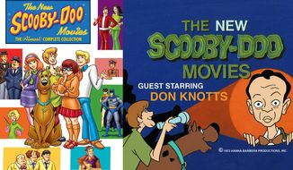 The New Scooby Doo Movies: The (Almost) Complete Collection, now available on Blu-ray, features an animated appearance by Don Knotts. (Courtesy Warner Bros. Home Entertainment)