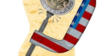 Turning the Screws on Mexico Illustration by Greg Groesch/The Washington Times