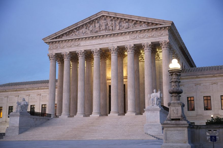 The Supreme Court has a shot at expanding gun rights with a case by gun rights activists against New York City. (Associated Press/File)
