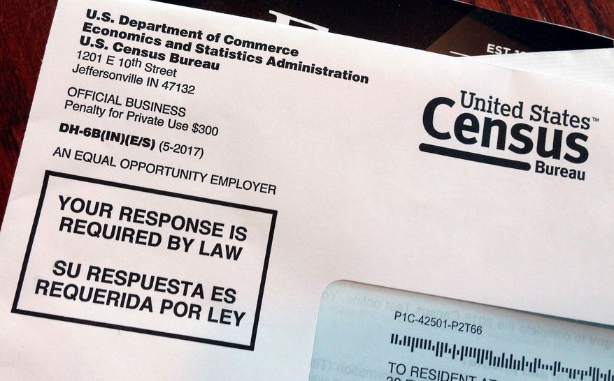 The U.S. Census Bureau and the citizenship question for the 2020 census continue to spark many discussions. (Associated Press) ** FILE **