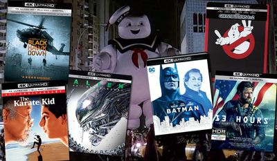 "Top Father's Day 4K ideas include ""Black Hawk Down,"" ""Alien: 40th Anniversary Edition,"" ""The Karate Kid: 35th Anniversary Edition,"" ""Ghostbusters & Ghostbusters II: Anniversary Steelbook Edition,"" ""Batman: 30th Anniversary Edition"" and ""13 Hours: The Secret Soldiers of Benghazi"""