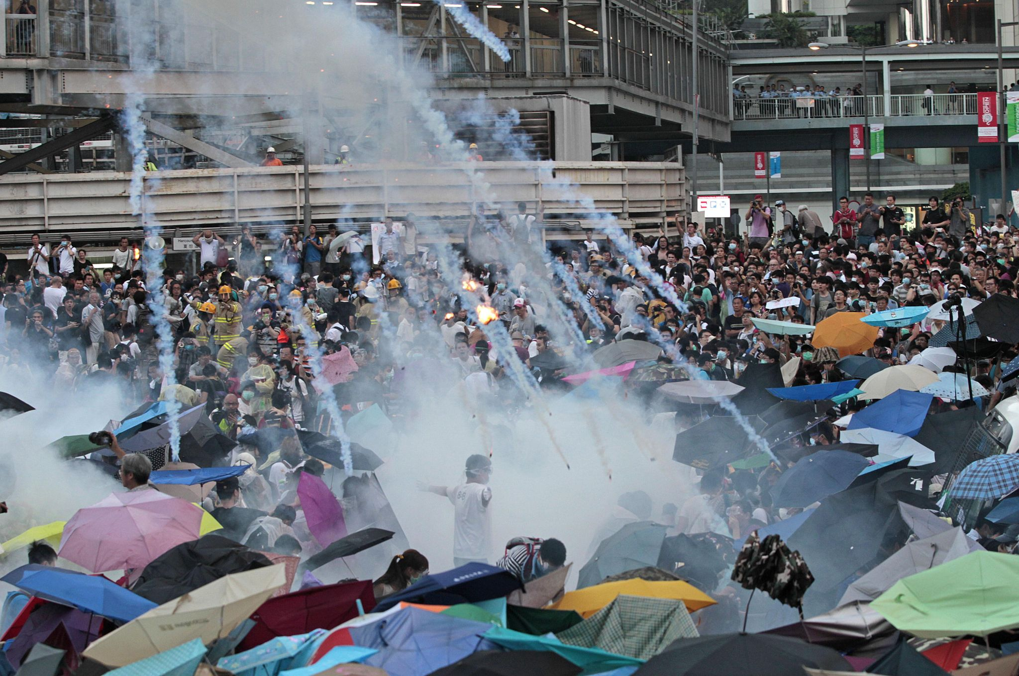 photo image Timeline: Unease grows in Hong Kong about eroding freedoms