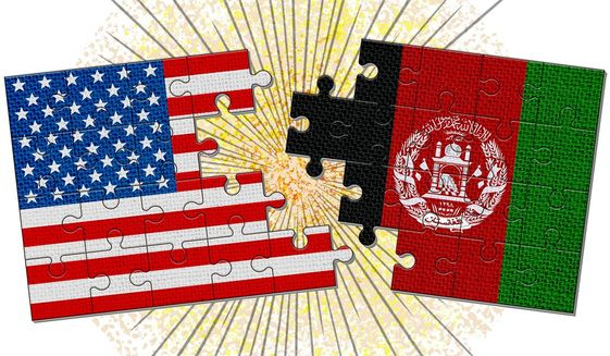 Afghanistan Withdrawal Illustration by Greg Groesch/The Washington Times