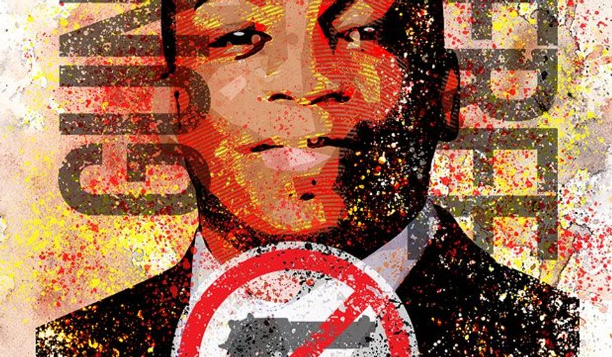 Exploiting the Gun Free Zone Illustration by Greg Groesch/The Washington Times