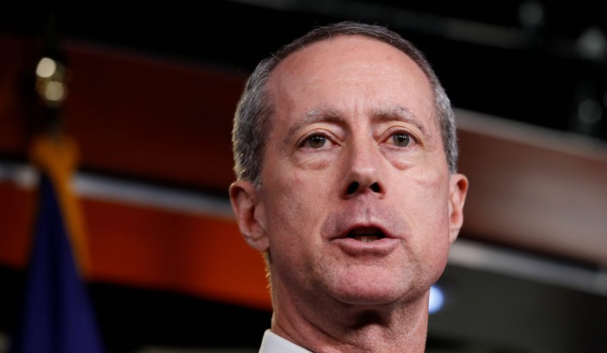 Rep. Mac Thornberry, R-Texas, chairman of the Armed Services Committee, attends a news conference on Thursday, Feb. 8, 2018, on Capitol Hill in Washington. (AP Photo/Jacquelyn Martin) ** FILE **
