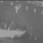 U.S. Central Command released grainy black-and-white video footage purportedly showing Iranian Revolutionary Guard personnel removing an unexploded mine one of the targeted oil tankers. (U.S. Central Command)
