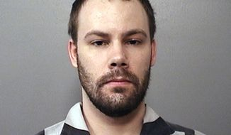 FILE - This photo provided by the Macon County Sheriff's Office in Decatur, Ill., shows Brendt Christensen. The former University of Illinois doctoral student on trial in the killing of a visiting scholar from China bought Drano and garbage bags three days after the slaying, according to testimony Thursday, June 13, 2019. (Macon County Sheriff's Office via AP, File)