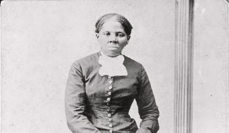 This 1860-75 photo made available by the Library of Congress shows Harriet Tubman. (Harvey B. Lindsley/Library of Congress via AP) **FILE**