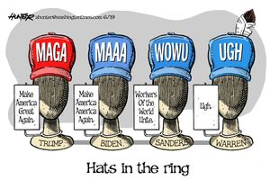 Hats in the ring