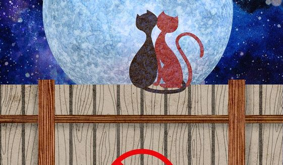 Alley Cats Illustration by Greg Groesch/The Washington Times