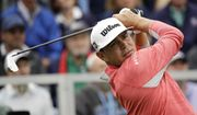 Gary Woodland watches his tee shot on the first hole during the final round of the U.S. Open Championship golf tournament Sunday, June 16, 2019, in Pebble Beach, Calif. (AP Photo/Marcio Jose Sanchez) **FILE**
