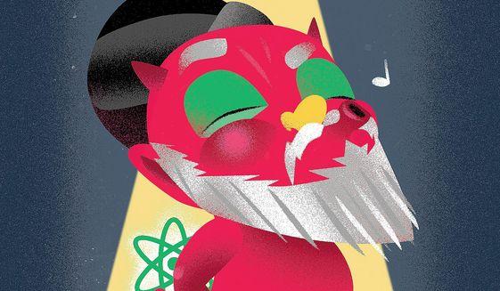 Iranian Mischief Illustration by Linas Garsys/The Washington Times
