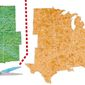 States Divided Illustration by Greg Groesch/The Washington Times